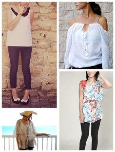Summer Sewing: 10 Trendy Women's Shirt Patterns