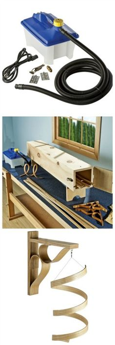 Steam Bending Kit w/FREE Bentwood Carryall Plan Download - Rockler.com