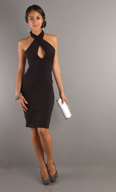 Sexy Black Homecoming Dress, Black Cocktail Dress- Simply Dresses