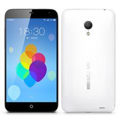 Meizu MX3 Octa Core Phone - 64GB ROM, 5.1 pollici 1080p OGS schermo, Exynos 5410 1.6GHz, 2GB di RAM, Flyme OS 3.0, NFCSmartphone MX3 -. Fornito dal produttore del telefono di fama internazionale Meizu, Inizialmente si noterà dal grande schermo del MX3 Meizu 5.1 pollici, che, in combinazione ad una forte batteria e le curve R-angolo palma-fit, tutto viene come parte di un corpo seducente sottile. Dopo l'accensione si è accolti da un display visivo scintillante grazie alla risoluzione di 1080p…