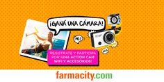 Farmacity - ¡Registrate y participá por una Action Cam Wifi y accesorios!