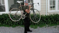 """My favorite thing to do is ride a bicycle. I ride road bikes. And for me, it's mobile meditation."" Robin Williams"