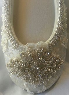 Hey, I found this really awesome Etsy listing at https://www.etsy.com/listing/162761361/wedding-shoes-bridal-ballet-slippers