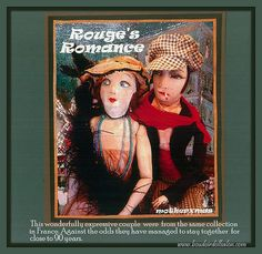 early apache french boudoir doll couple | Flickr - Photo Sharing!