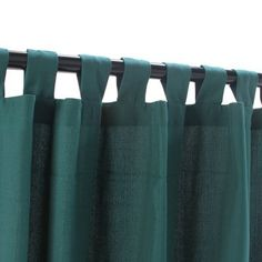 WeatherSmart Outdoor Curtain with Tabs - Green - 54x96 by WeatherSmart. $89.99. Total Length:. Material: WeatherSmart. Color: Emerald. Weight Capacity:. Width:. WeatherSmart is a fabric that stand true to its outdoor durability features but that also offer the softness of cotton. Made to be mold and mildew resistant, WeatherSmart offers vivid colors that will brighten and spruce your backyard. Easy to install, they offer the convenience of sun protection aligned with added style ...