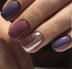 55 Wedding Nail Designs for Your - Nageldesign - Nail Art - Nagellack - Nail Polish - Nailart - Nails Stylish Nails, Trendy Nails, Fancy Nails, Cute Nails, Sparkle Nails, Shellac Nails, Nail Polish, Acrylic Nails, Gel Toe Nails