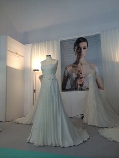 Stand #AnnaTumas presso RomaSposa 2014 #weddingdress #eventinrome #abitidasposa