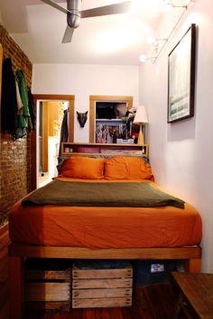 Lauren S Tiny 400 Square Foot Cozy Apartment Green Tour
