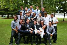 Group shots with the boys are a must...