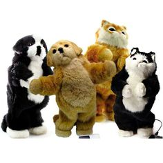 Fun Party Animal Dancing Pet Speaker Cat / Dog Collect all 4 Brown / Black   http://cgi.ebay.com/ws/eBayISAPI.dll?ViewItem=330880697093