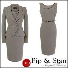 Dry cleaned and ready to wear. 2 piece dress suit. Length from collar: 23 58. Length: 37 94. FABRIC COMPOSITION. Rest of world £25. Rest of world £40. | eBay!