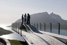 architecture norway | Viewpoint Bergsbotn, Senja