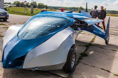 Flying car creators propose moving traffic to the skies.