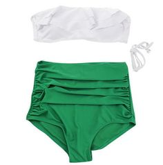 swimsuit bikini set Vintage high waist bikini high waist swimsuit high waisted bathing suits biquini swimwear retro swimwear