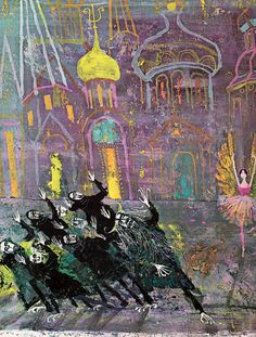 """Book """"Tales from the ballet"""", illustrated by Alice and Martin Provensen in 1968"""