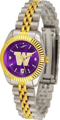 Washington Huskies- University Of Executive Anochrome - Ladies - Women's College Watches by Sports Memorabilia. $153.47. Makes a Great Gift!. Washington Huskies- University Of Executive Anochrome - Ladies