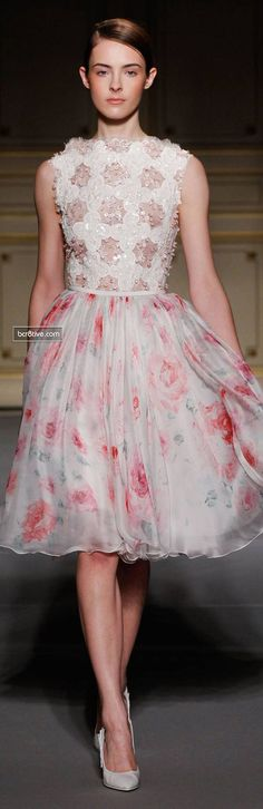 Georges Hobeika Couture Collection Spring 2013 | bcr8tive