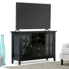 Simpli Home Artisan 53 in. TV Stand | from hayneedle.com