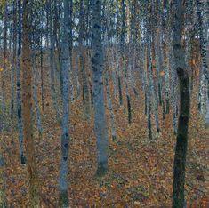 Hêtraie, par Gustav Klimt - 1902 - Dresde