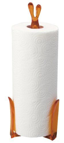 Koziol,Roger 5226509 Orange Paper Towel Stand has Mastered the Art of Holding Paper Towels at the Ready, 4,57X4,84X13,15-Inch by Koziol. $18.80. Koziol has brought creative designs to millions of homes. Manufactured without the use of softening agents. 100-Percent German Made. Roger has mastered the art of holding paper towels at the ready. Melamine and BPA Free. 100-Percent Made in Germany: Koziol has been creating fun award winning designs for the home since 1927 from their ...