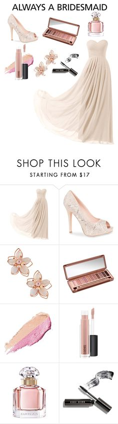 """Untitled #54"" by crazycookieclothers ❤ liked on Polyvore featuring Remedios, Lauren Lorraine, NAKAMOL, Urban Decay, By Terry, MAC Cosmetics, Guerlain and Bobbi Brown Cosmetics"