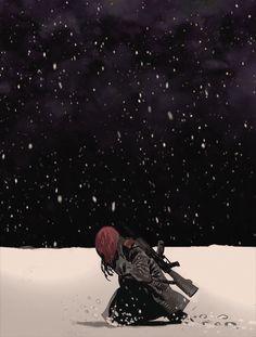 Black Widow, The Name of The Rose - Daniel Acuña