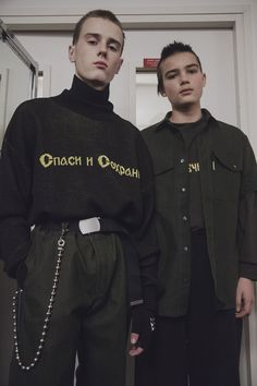 exclusive: go backstage at gosha rubchinskiy's fall/winter 16 show