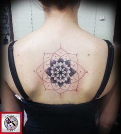 mandala tattoo Mandala Tattoo Design, Tattoo Designs, New Art, Cool Tattoos, Tatting, Body Art, Rug, Flower, Nice