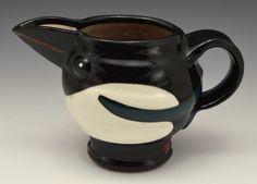 Magpie Earthenware, Stoneware, Rara Avis, Animal Sculptures, Magpie, My Images, Pots, Tableware, Dinnerware