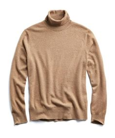 6c42a8d929 Todd Snyder | Cashmere Turtleneck (Camel) Mens Turtleneck, Cashmere  Turtleneck, Men Sweater