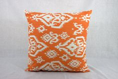 Throw Pillows Sofa   Orange 18x18 Accent Pillow by HomeMakeOver