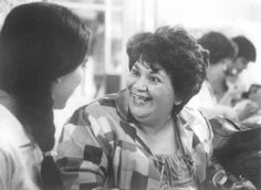 Rosa with Nacha (Lupe Ontiveros) in El Norte (1983) giving her lessons on living in the U.S.http://media-cache-ec0.pinimg.com/736x/3b/af/83/3baf832440332680f9451fb2018ad90a.jpg