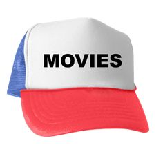 Trucker hat with the word Movies. There are super fans that love everything to do with movies: trailers, making, production, distribution, behind the scenes, crew, award shows, etc. Available in black and white; red, white and blue for only $15.99. Go to the link to purchase the product and to see other options – http://www.cafepress.com/stMoviesStreamBinge