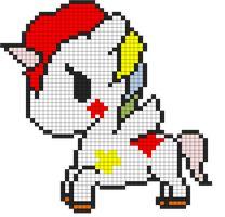 Tokidoki Unicorn Pattern by indidolph