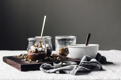 Dessert Dukkah + Raw Chocolate Pudding | Faring Well | #vegan #raw #recipe