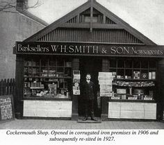 WHSmith shop front from 1906