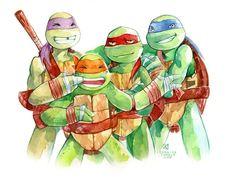 Cartoon & Co - Teenage Mutant Ninja Turtles (TMNT)