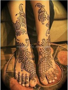 henna feet - Google Search
