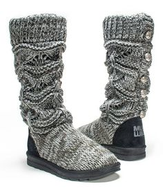 Gray Jamie Sweater Boot #zulily #zulilyfinds •1'' platform •14'' shaft •16'' circumference •Pull-on •Cushioned footbed •Textile upper •Textile lining •TPR sole •Imported  No animal products!!!!
