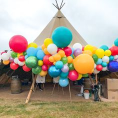 Saying I Do With Bubblegum Balloons Firstly, Congratulations! We spend all day everyday helping couples to bring their wedding dreams to life and know just how special this time is. Tipi Wedding, Dream Wedding, Bubblegum Balloons, English Summer, Big Balloons, Balloon Garland, Bubble Gum, Wedding Inspiration, Wedding Ideas