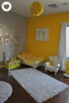 painted furniture ideas | grey yellow and room themes