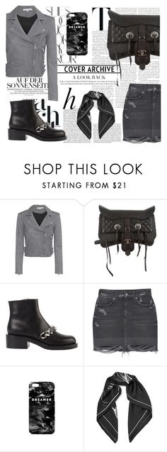 """""""Untitled #124"""" by sascha-haarup on Polyvore featuring Rika, Whiteley, IRO, Chanel, Givenchy, MANGO, Mr. Gugu & Miss Go and Equipment"""