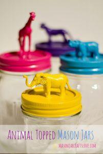 My top 4 mason jar ideas and DIY crafts!