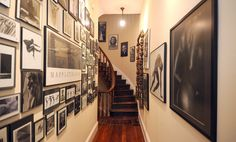 Talk about a gallery wall!