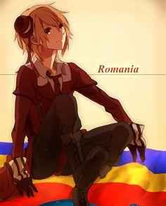 Hetalia-Romania lookin innocent