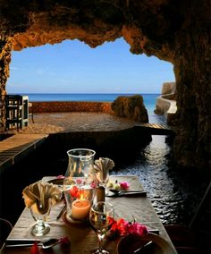 Negril Jamica  ,Cave Restaurant.  Yes, I will be there this summer!!!