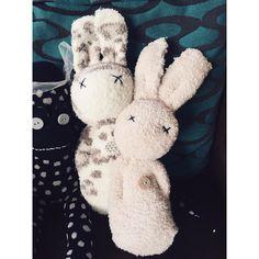 Sockpops rabbits sockmonkey
