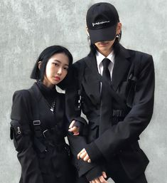 Alternative Fashion, Alternative Style, New Outfits, Fashion Outfits, Ulzzang Couple, Mens Clothing Styles, Asian Beauty, Couples, Fitness