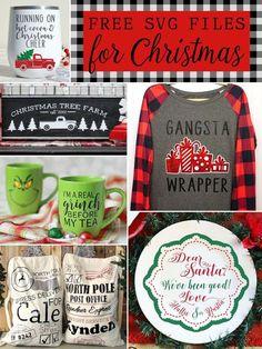 FREE Christmas SVG Files - The Scrap Shoppe