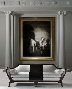 modern house design interior and exterior Classic Interior, Modern Interior Design, Interior And Exterior, Classic Sofa, Gray Interior, Interior Photo, Luxury Interior, Style Boudoir, Luxury Living